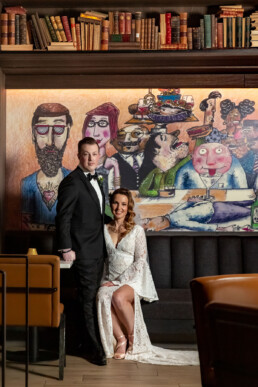 Hotel EMC2 Chicago Wedding